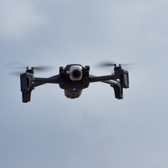 """""""Parrot Anafi Drone"""" stock image"""