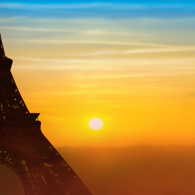 """Vacation travel concept to Paris"" stock image"