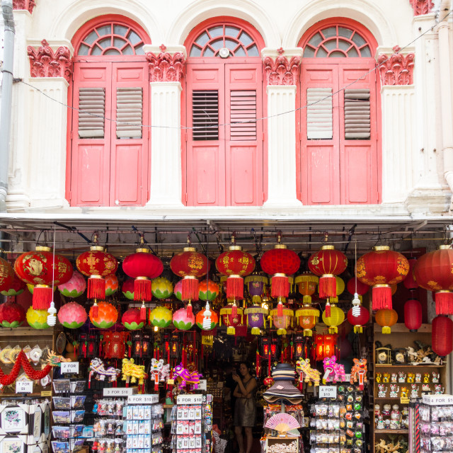 """""""Souvenir shop, Smith Street"""" stock image"""