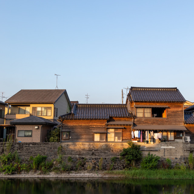 """""""Kazue-machi chaya geisha district, Ishikawa Prefecture, Kanazawa, Japan"""" stock image"""