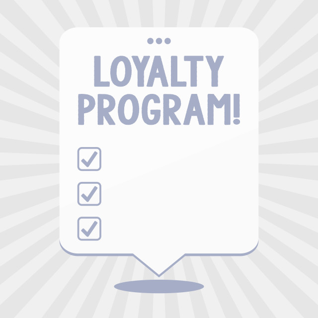 """Word writing text Loyalty Program. Business concept for structured marketing..."" stock image"