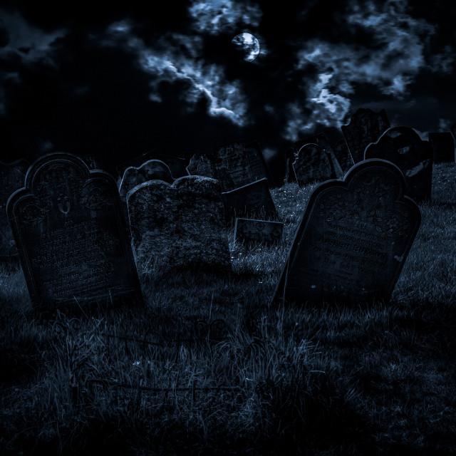 """The Graveyard"" stock image"