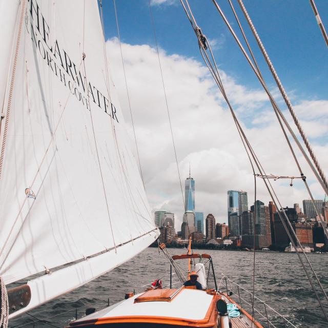 """""""NYC Cruise"""" stock image"""