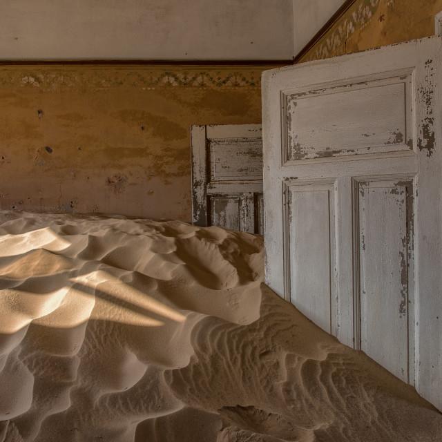"""""""Kolmanskop"""" stock image"""