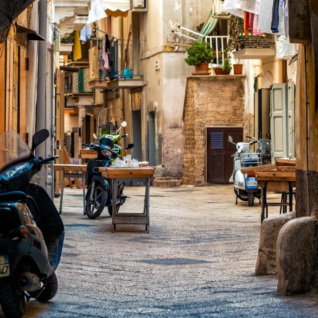 """Bari Old Town"" stock image"