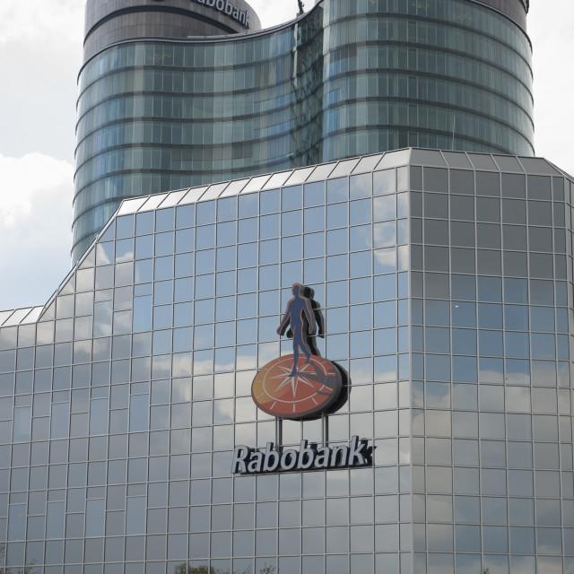 """Utrecht Rabobank kantoren offices."" stock image"