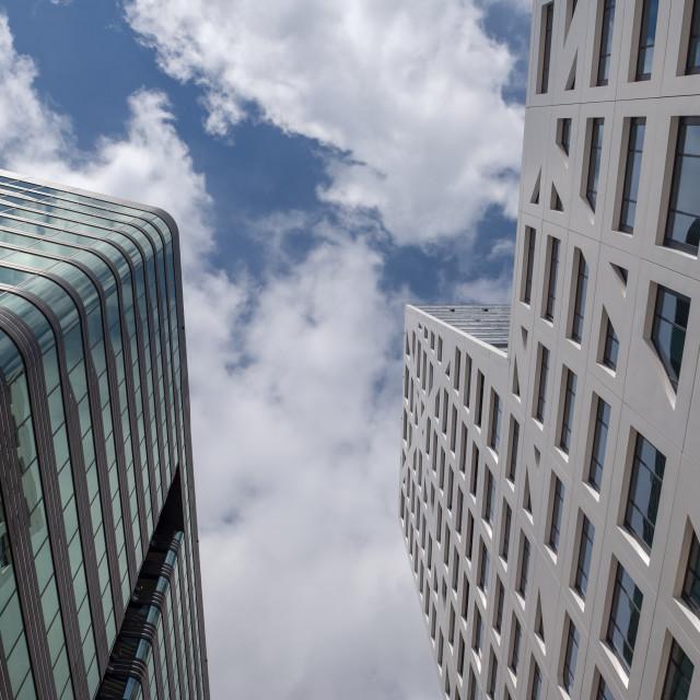 """Utrecht WTC World Trade center kantoorgebouw."" stock image"