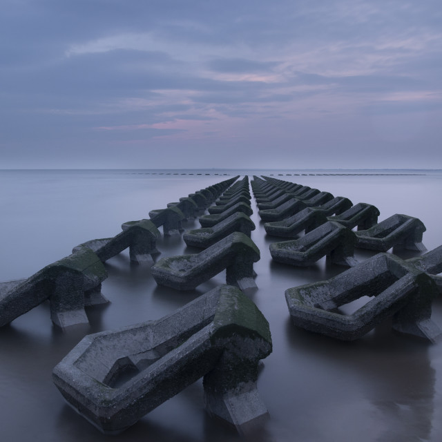 """Sea defence"" stock image"