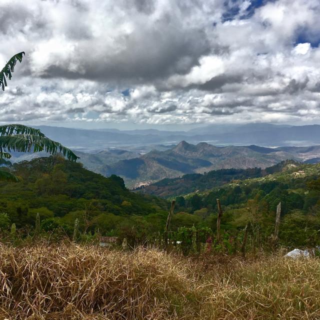 """""""Honduras mountain views"""" stock image"""