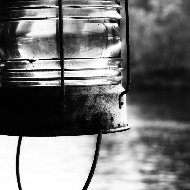 """The Old Lamp"" stock image"