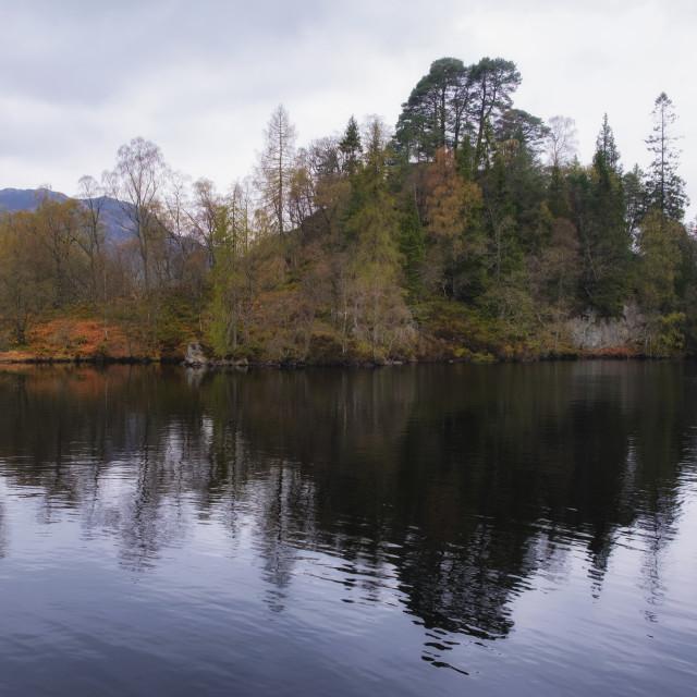 """Loch Katrine"" stock image"