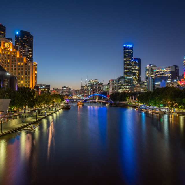 """City of Melbourne"" stock image"
