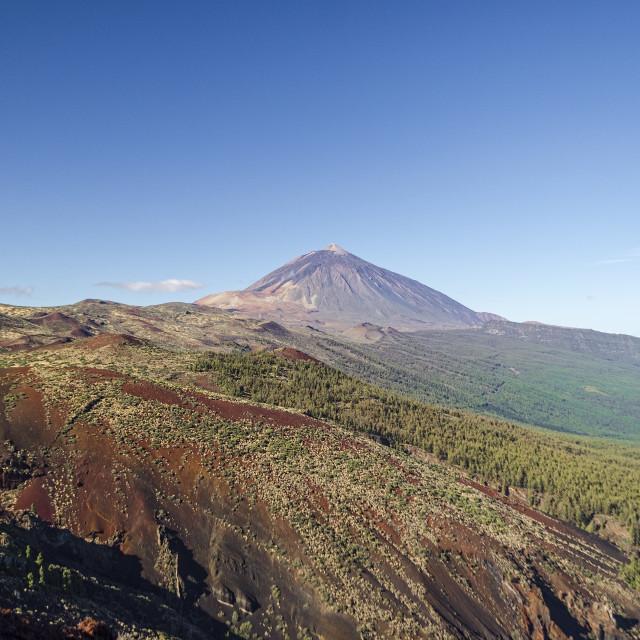 """Mount Teide."" stock image"