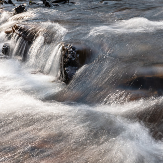 """Flowing Water"" stock image"