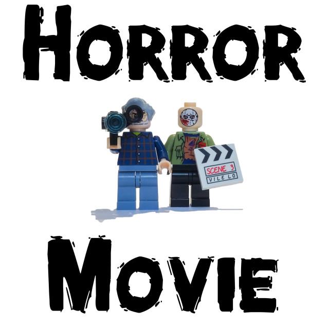 """Horror Movie"" stock image"