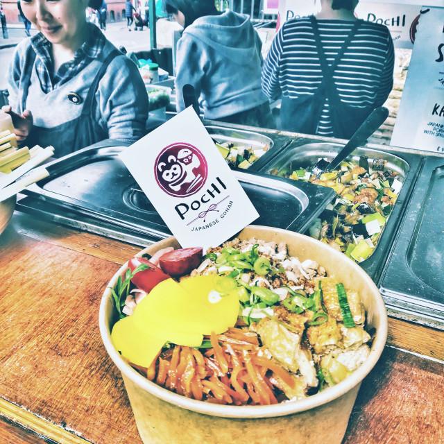 """Japanese Rice Bowl"" stock image"