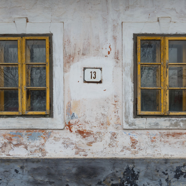 """Architecture of Turiec region, Slovakia."" stock image"