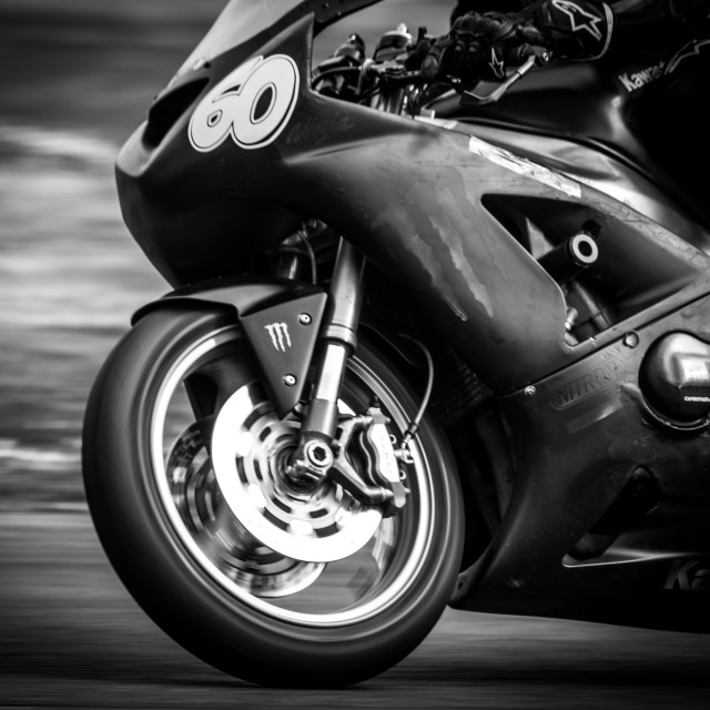 """Motorbike racing No 60"" stock image"