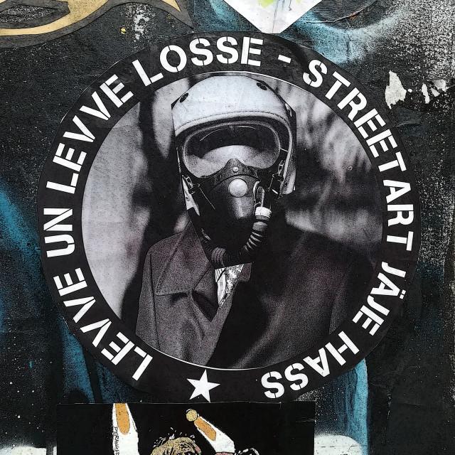 """Street art in Shoreditch"" stock image"