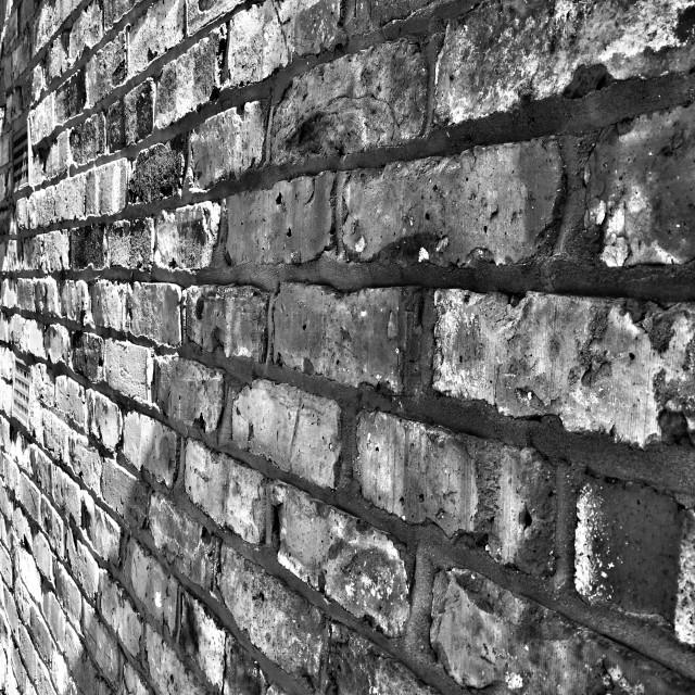 """Study in brick."" stock image"
