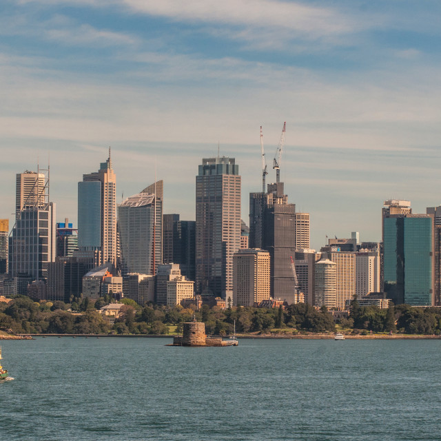 """Sydney city"" stock image"