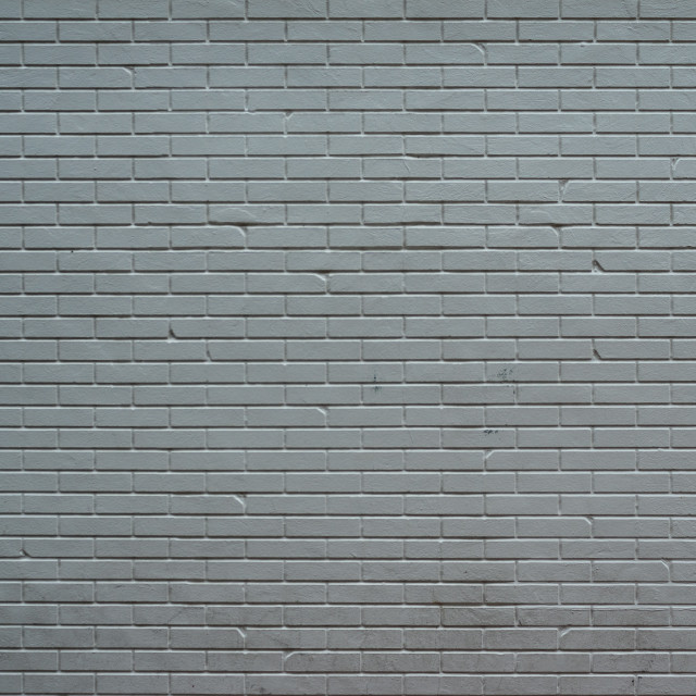 """Painted Brick Wall Background"" stock image"