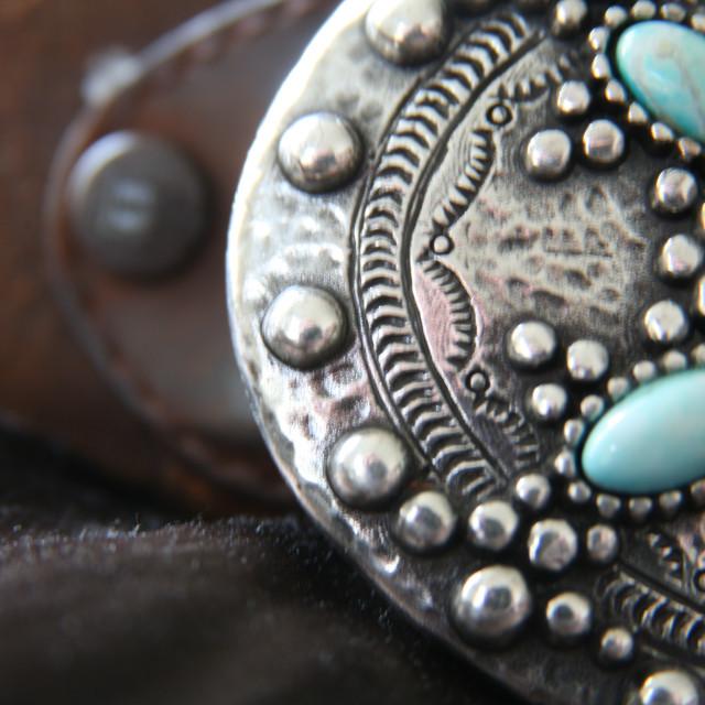 """Western belt detail"" stock image"