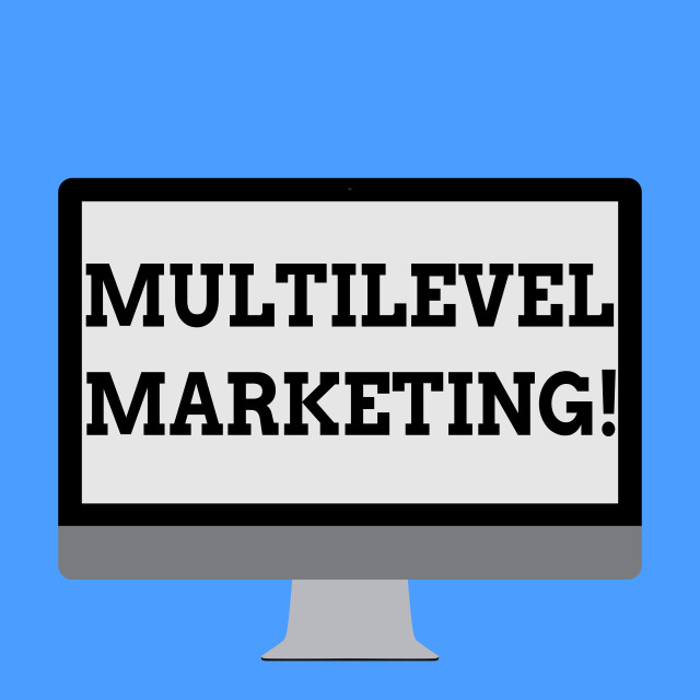 """""""Word writing text Multilevel Marketing. Business concept for marketing..."""" stock image"""
