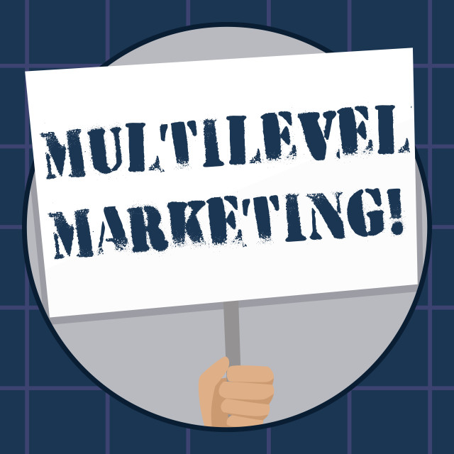 """""""Conceptual hand writing showing Multilevel Marketing. Business photo text..."""" stock image"""