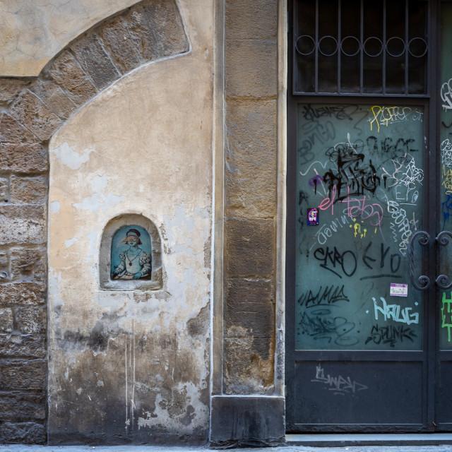 """Borgo Santa Croce"" stock image"