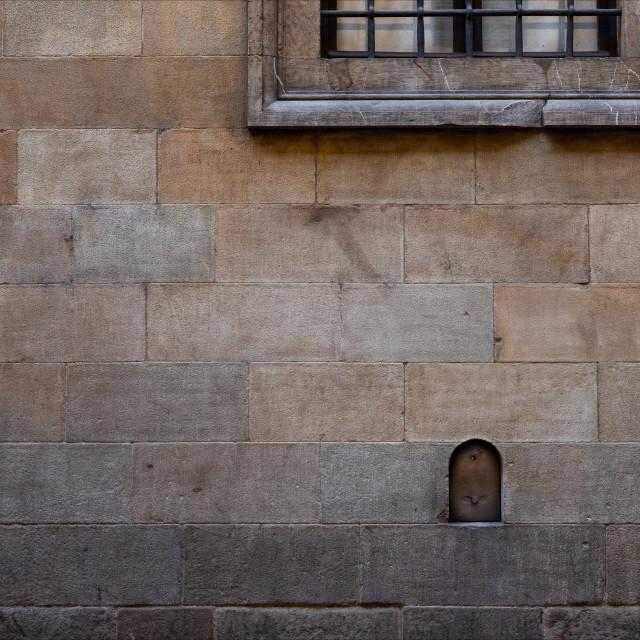 """""""Via de' Ginori"""" stock image"""