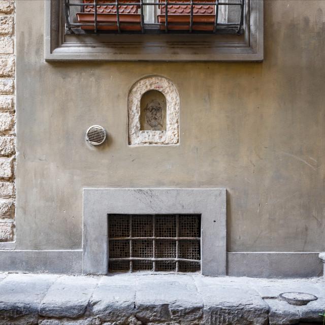 """""""Via dei Pandolfini"""" stock image"""
