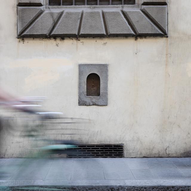 """""""Via dei Serrafli"""" stock image"""