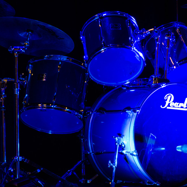 """Drum Set"" stock image"