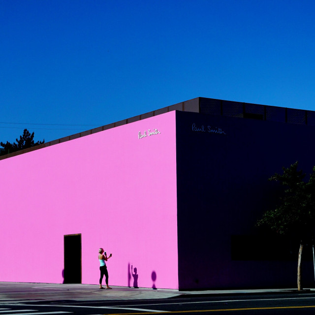 """pink walls"" stock image"