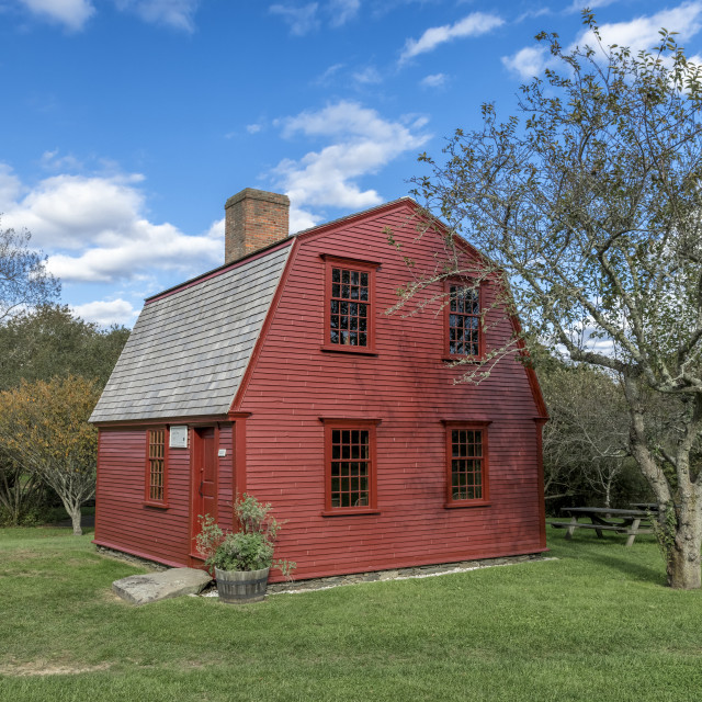 """Historic Prescott Farm, Middletown, Rhode Island"" stock image"