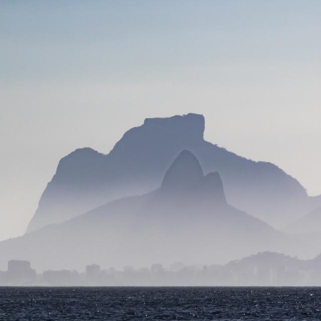 """""""Hills of Rio de Janeiro"""" stock image"""