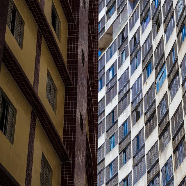 """""""Windows of Sao Paulo"""" stock image"""