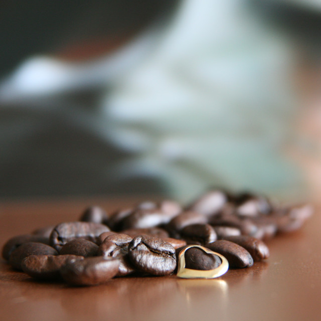 """""""Coffee lover"""" stock image"""