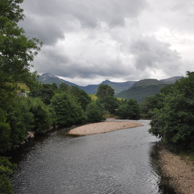 """Scotland River"" stock image"