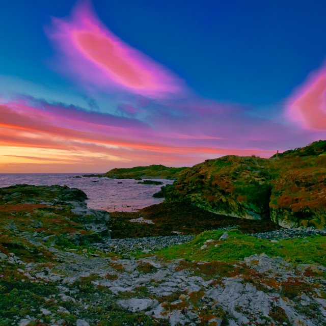 """""""King Islands Stunning Colours"""" stock image"""