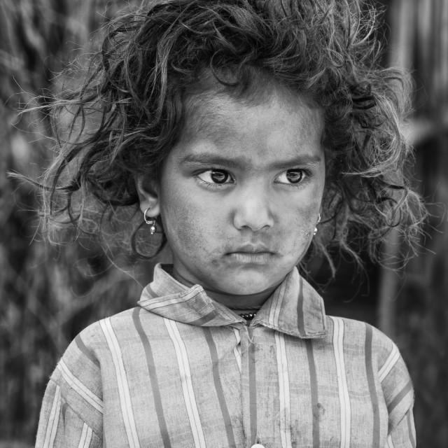 """Indian girl"" stock image"