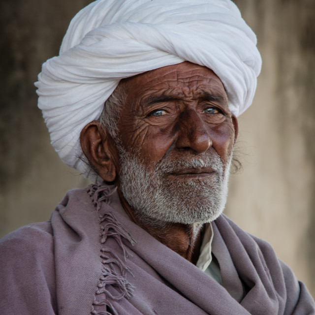 """""""Indian man in portrait"""" stock image"""