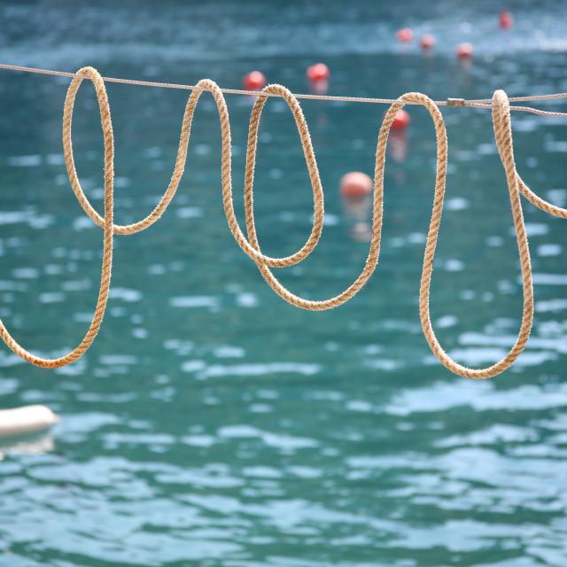 """Ligurian Loops"" stock image"