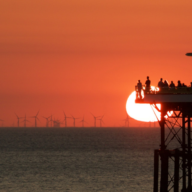 """""""Moments you'll remember forever. Blackpool."""" stock image"""