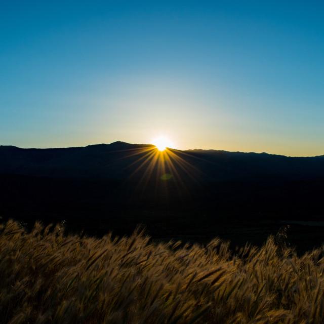 """Sunset Point"" stock image"
