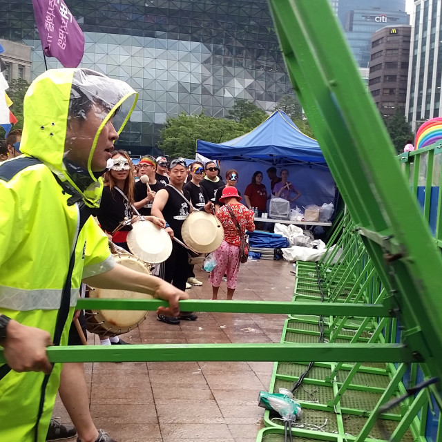 """""""Moment of truth, Seoul, Korea"""" stock image"""