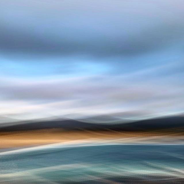 """""""Carmel dreamscape"""" stock image"""