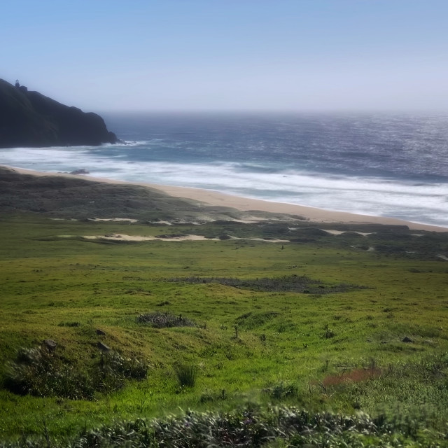 """Big Sur beach"" stock image"