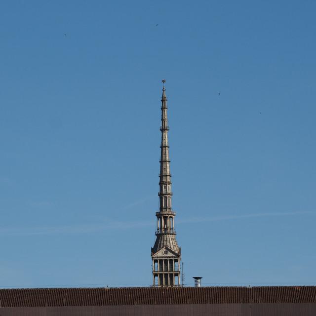 """""""Mole Antonelliana in Turin"""" stock image"""